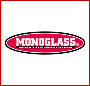 Monoglass Spray on Insulation